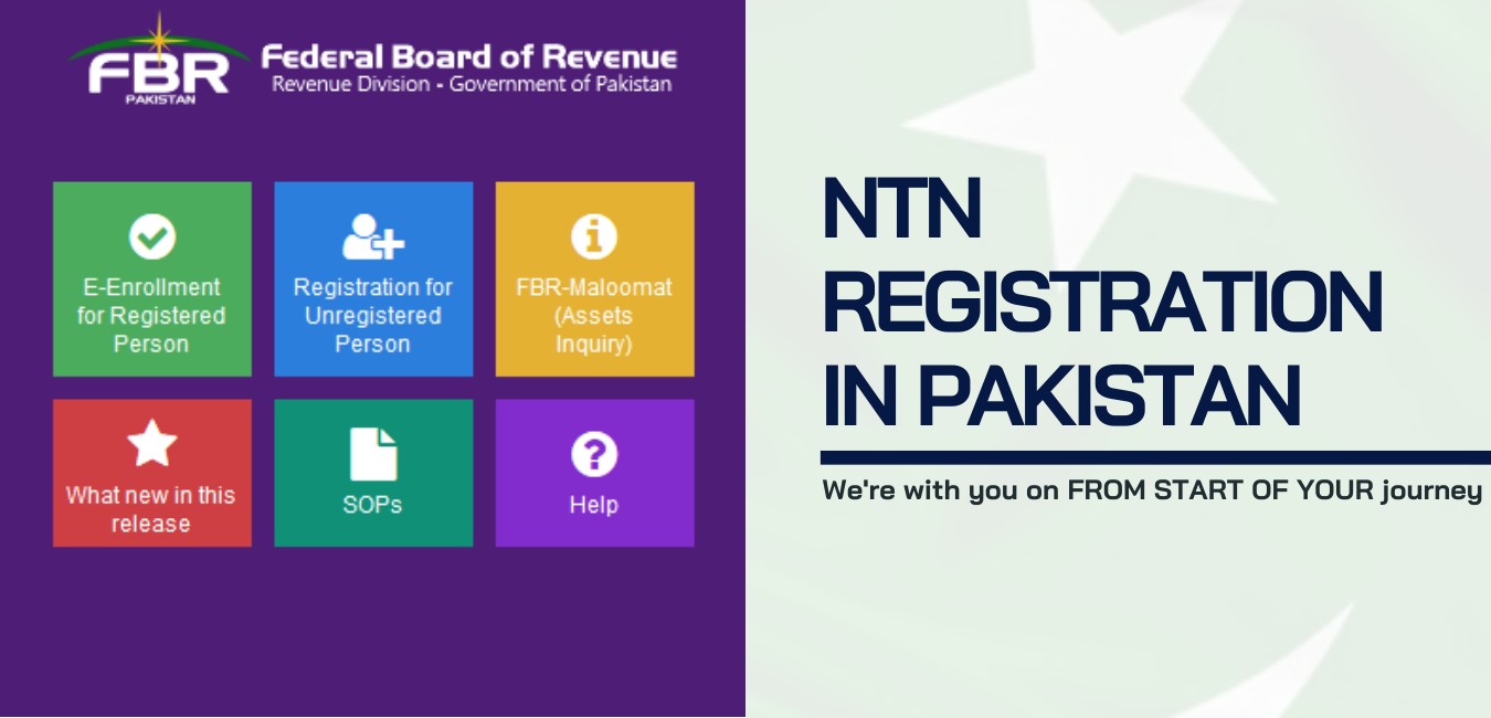 NTN Registration in Lahore, Tax Consultants in Lahore